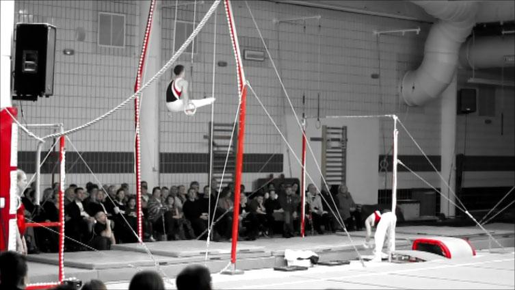gymnast on rings