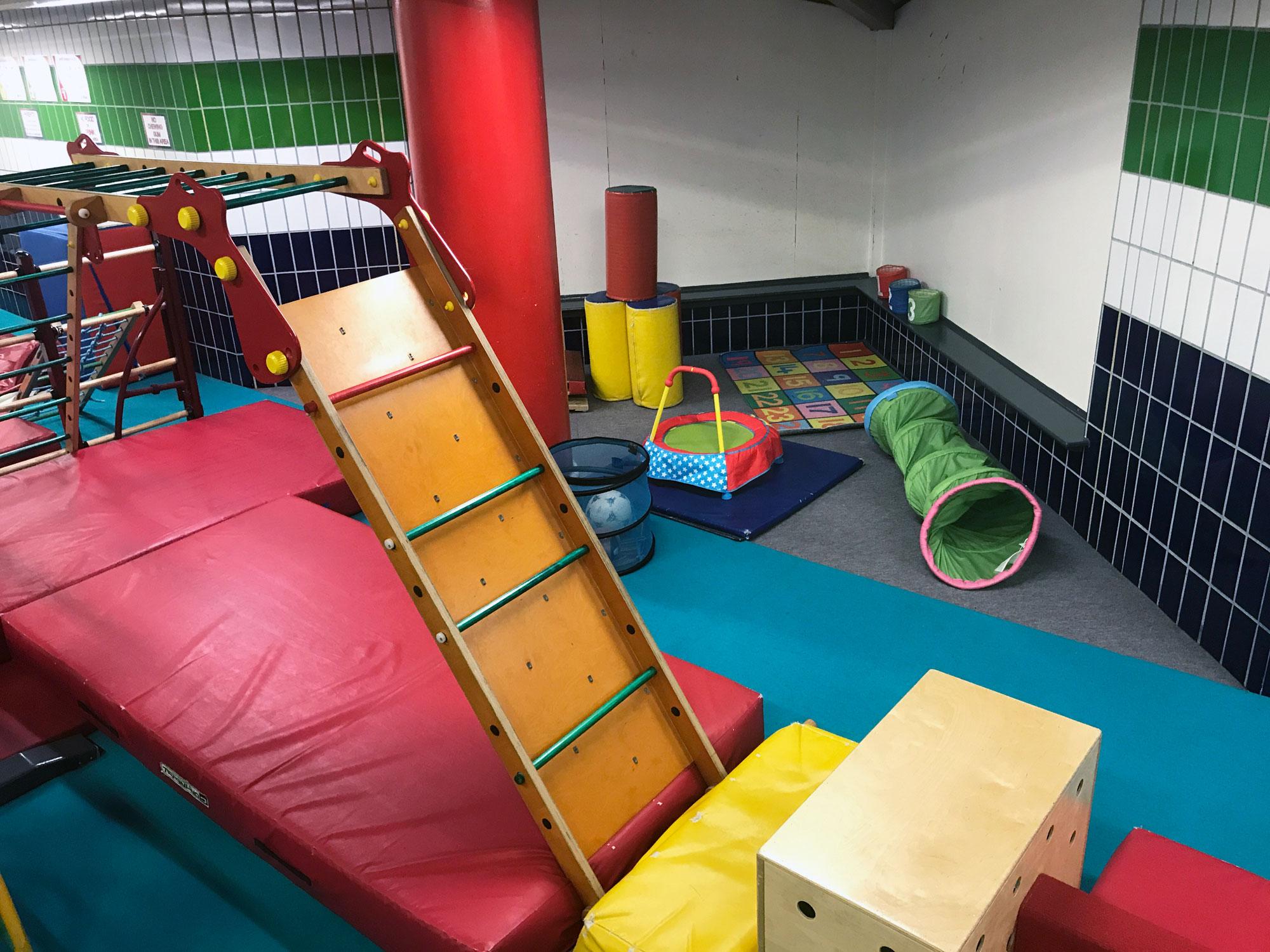 Toddler Gymnastics Young Kids Play Gym 7