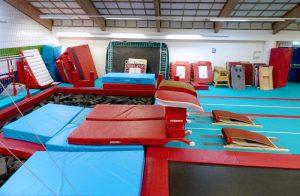 CMIG Main Gym Arena vaults