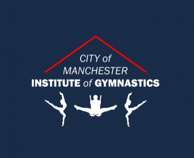 City of Manchester Institute of Gymnastics Logo