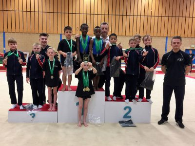 North West Challenge gymnastics winners