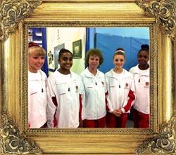 CMIG England Team Gymnasts 2013